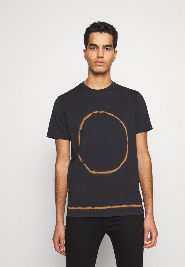 TIE DYE - Print T-shirt - navy