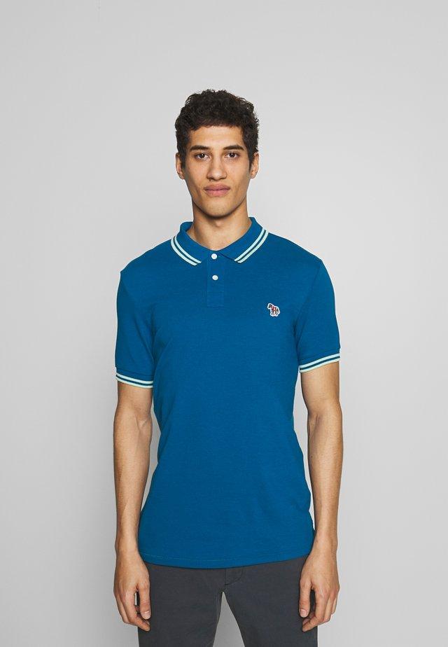 SLIM FIT - Poloshirt - blue