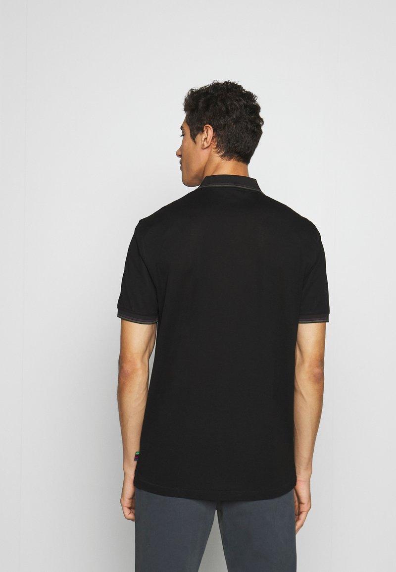 PS Paul Smith STRIPE POLO - Poloskjorter - black