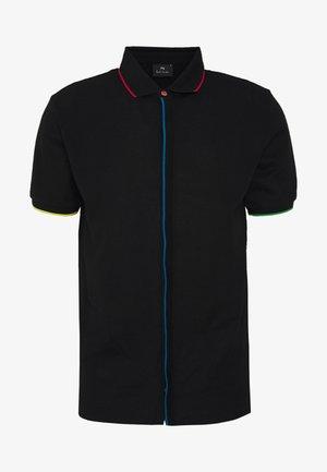 MENS REG FIT - Skjorta - black