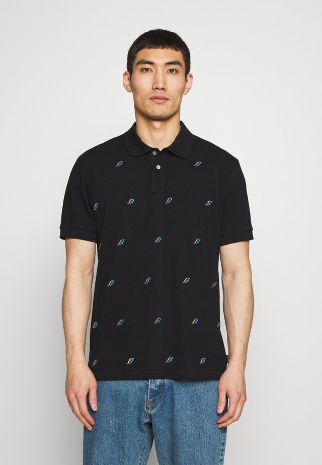 MENS FIT  - Poloskjorter - black