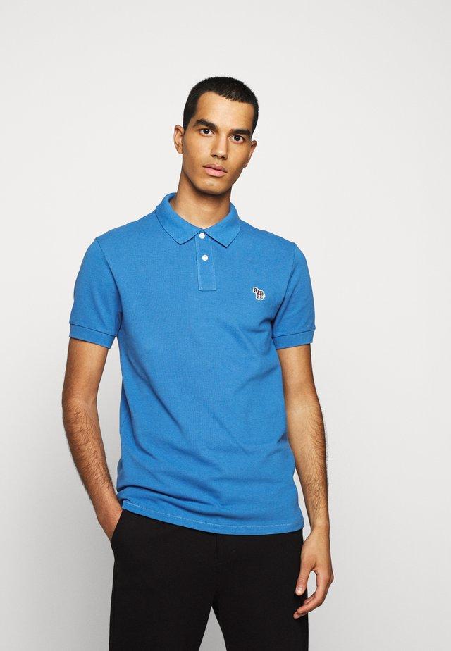 MENS SLIM FIT - Poloskjorter - blue