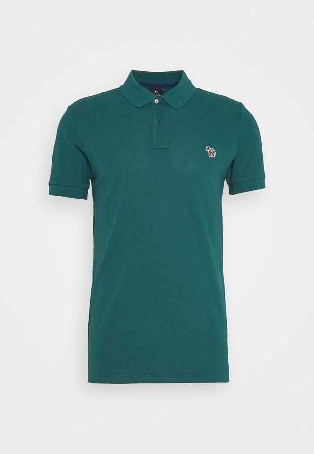 MENS SLIM FIT - Polo shirt - dark green