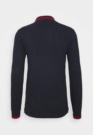 MENS SLIM FIT - Poloskjorter - dark blue