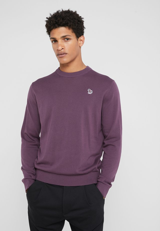 CREW NECK  - Strickpullover - purple