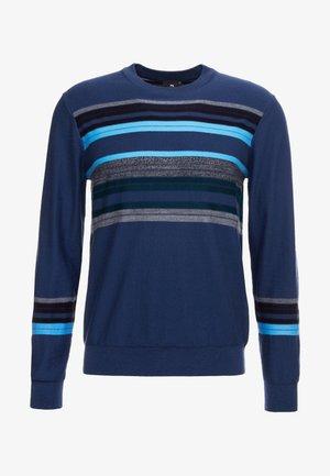 CREW NECK - Svetr - blue