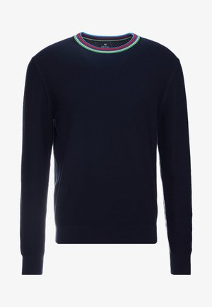 MENS CREW NECK - Strikkegenser - navy
