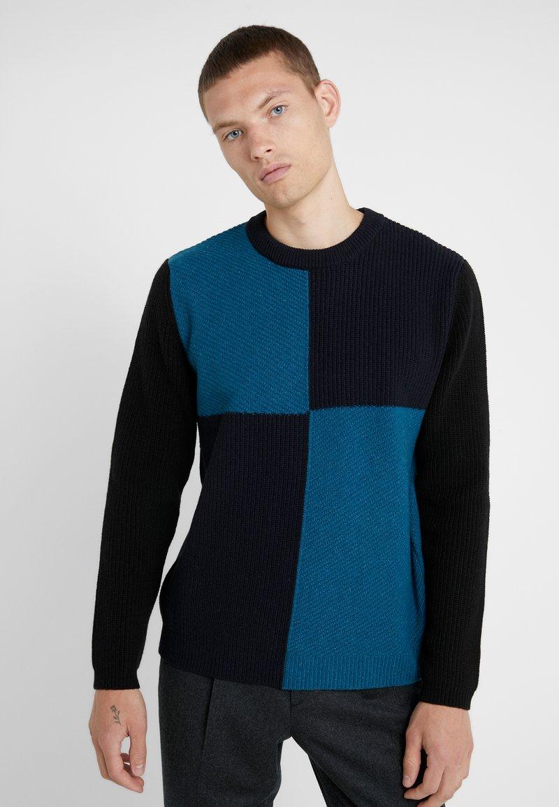 PS Paul Smith - CREW NECK - Strikkegenser - blue