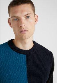 PS Paul Smith - CREW NECK - Strikkegenser - blue - 3