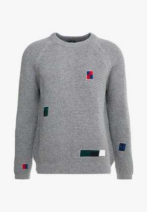 MENS CREW NECK - Pullover - grey