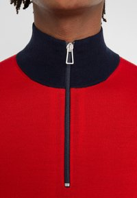 PS Paul Smith - ZIP NECK - Maglione - red
