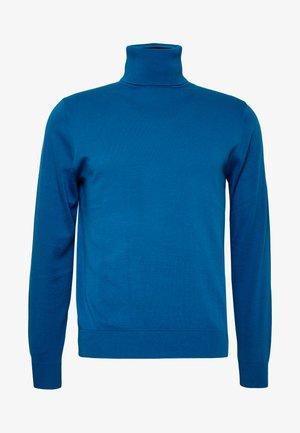PULLOVER ROLL NECK - Jumper - blue