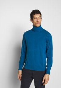 PS Paul Smith - PULLOVER ROLL NECK - Pullover - blue - 0