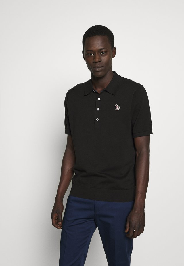 MENS CREW NECK - Poloskjorter - black