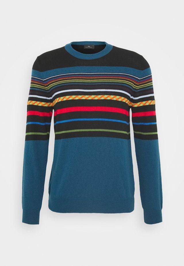 MENS PULLOVER CREW NECK - Stickad tröja - black