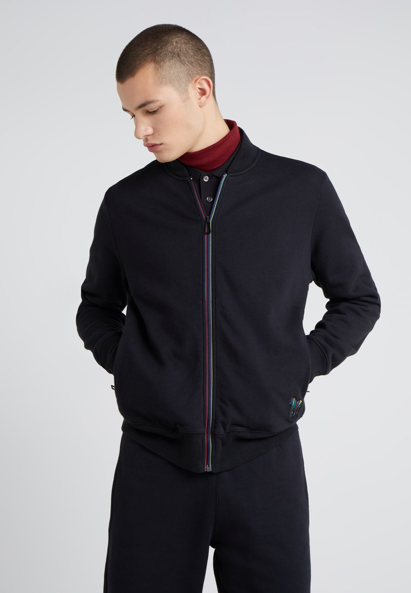 PS Paul Smith - veste en sweat zippée - black