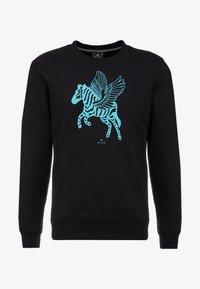 PS Paul Smith - REGULAR FIT PEGASUS - Sweatshirt - black - 3