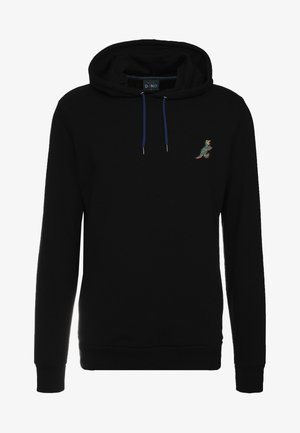 HOODED DINO - Sweat à capuche - black