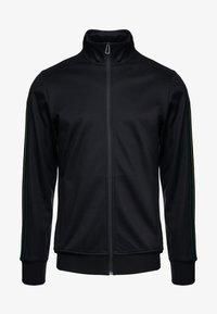 PS Paul Smith - MENS ZIP TRACK TOP - Bluza rozpinana - black - 5