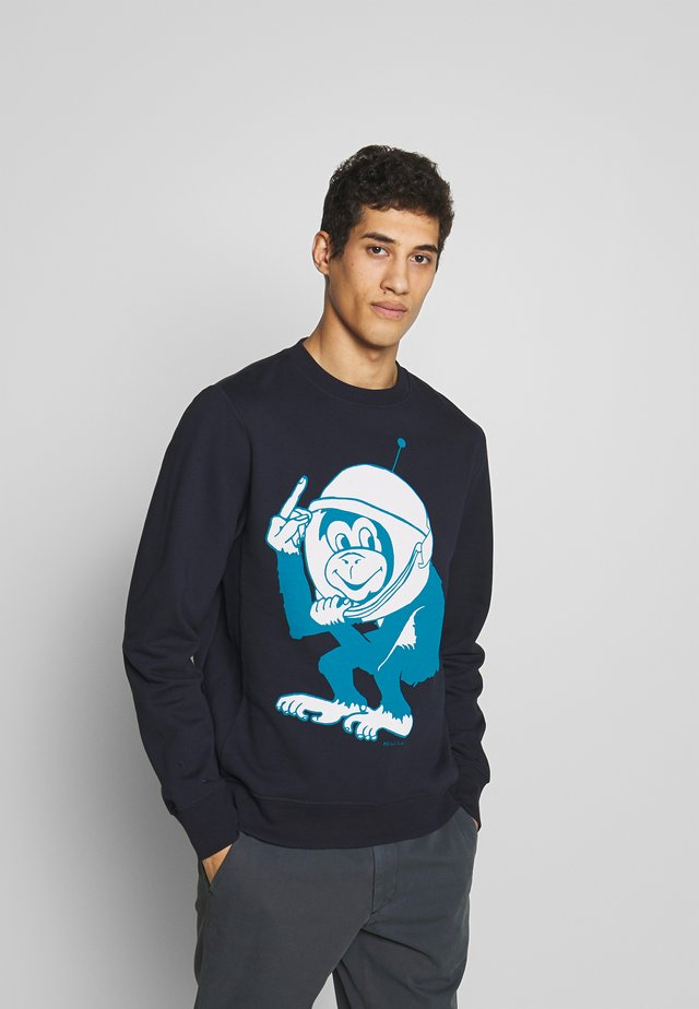 MENS SPACE MONKEY - Collegepaita - navy