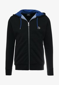 PS Paul Smith - HOODED ZIP - Bluza rozpinana - black - 3