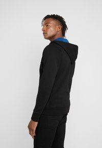 PS Paul Smith - HOODED ZIP - Bluza rozpinana - black - 2