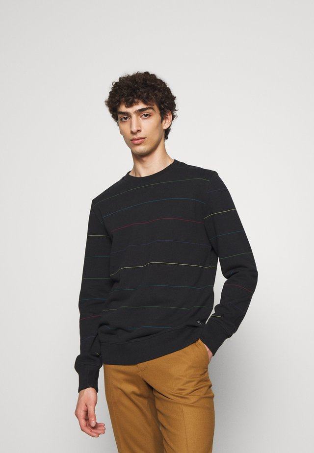 COLOURSTRIPE - Sweatshirt - black