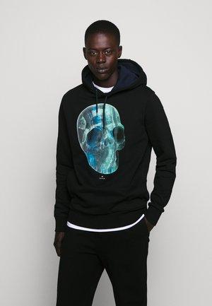 REGULAR FIT HOODY SKUL - Hoodie - black