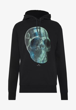 REGULAR FIT HOODY SKUL - Hættetrøjer - black