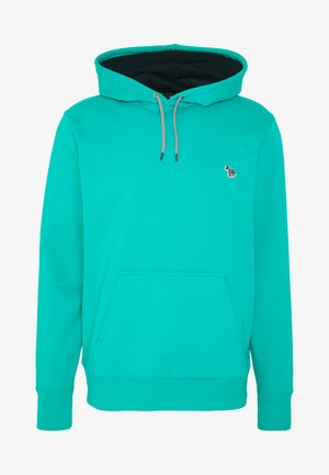 MENS FIT HOODIE - Mikina skapucí - turquoise