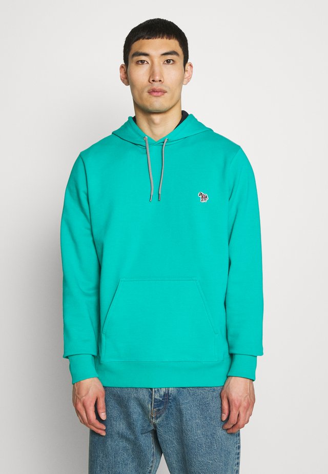 MENS FIT HOODIE - Jersey con capucha - turquoise