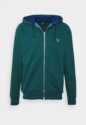 ZIP HOODY - Zip-up hoodie - dark green