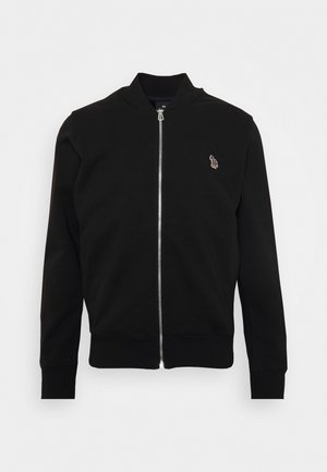MENS ZIP - Zip-up hoodie - black