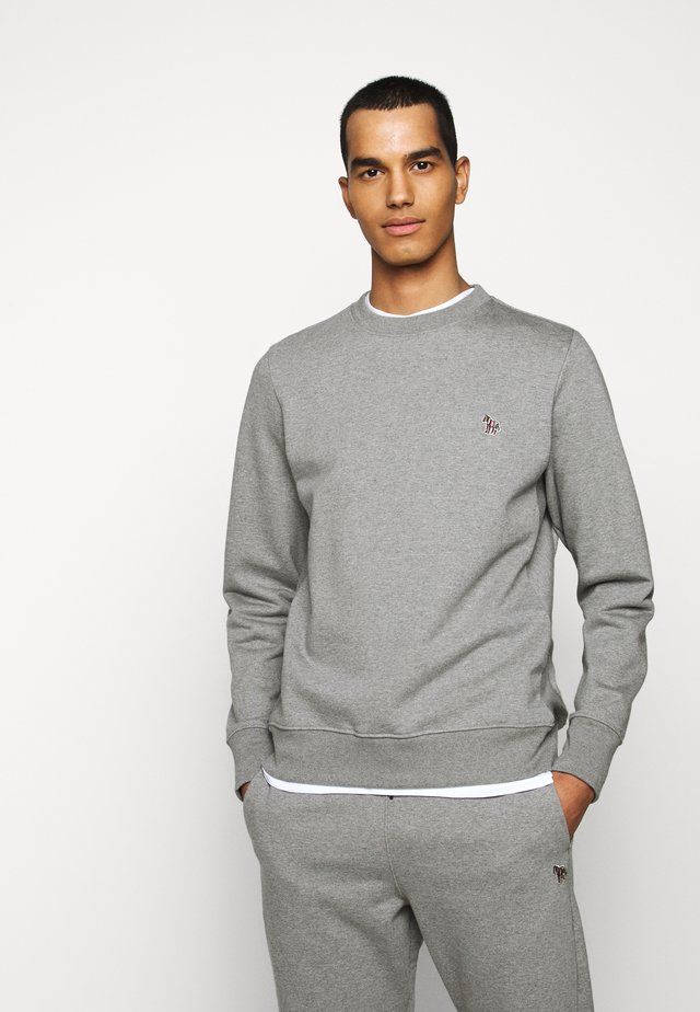 MENS - Sweatshirt - mottled grey