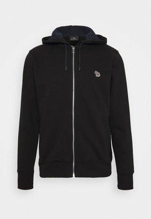 ZIP HOODY - Bluza rozpinana - black
