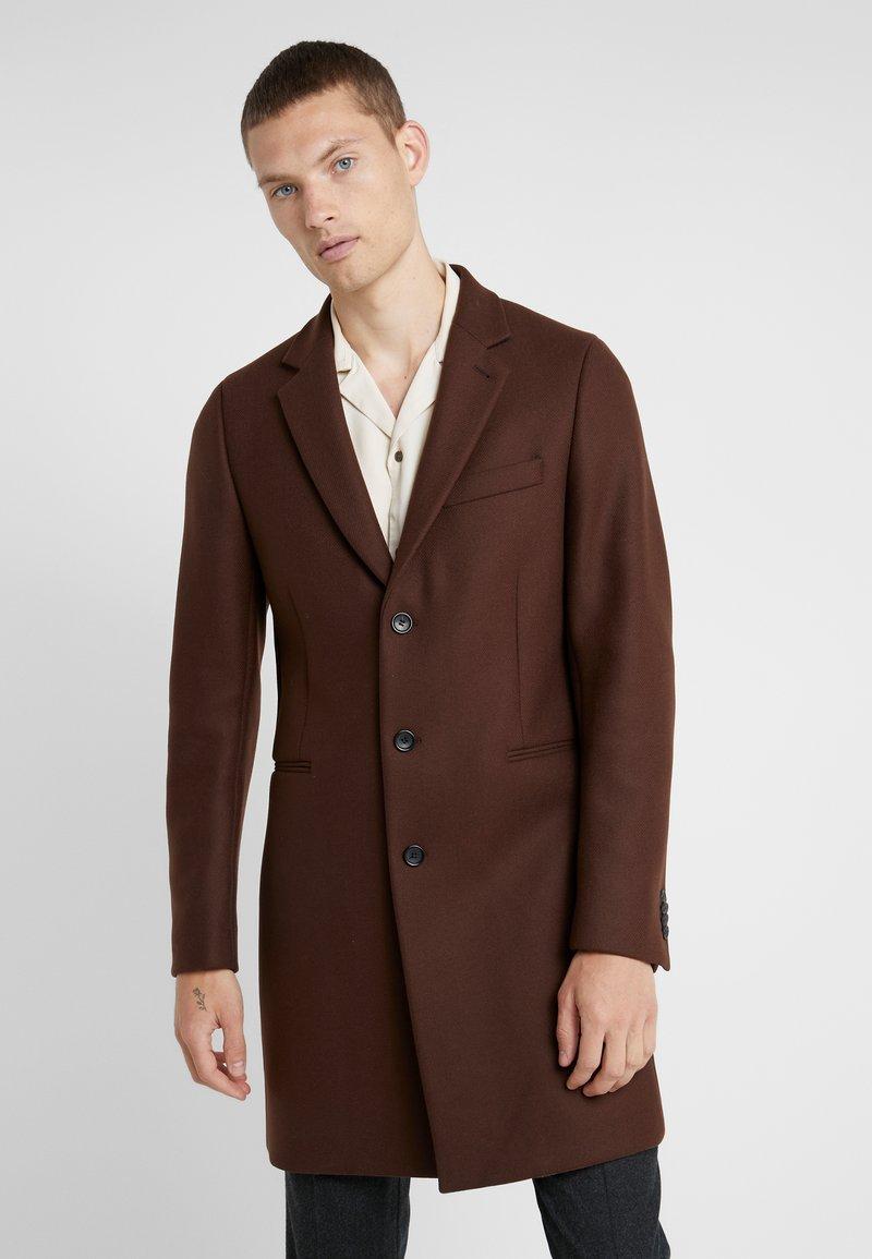 PS Paul Smith - OVERCOAT - Zimní kabát - brown