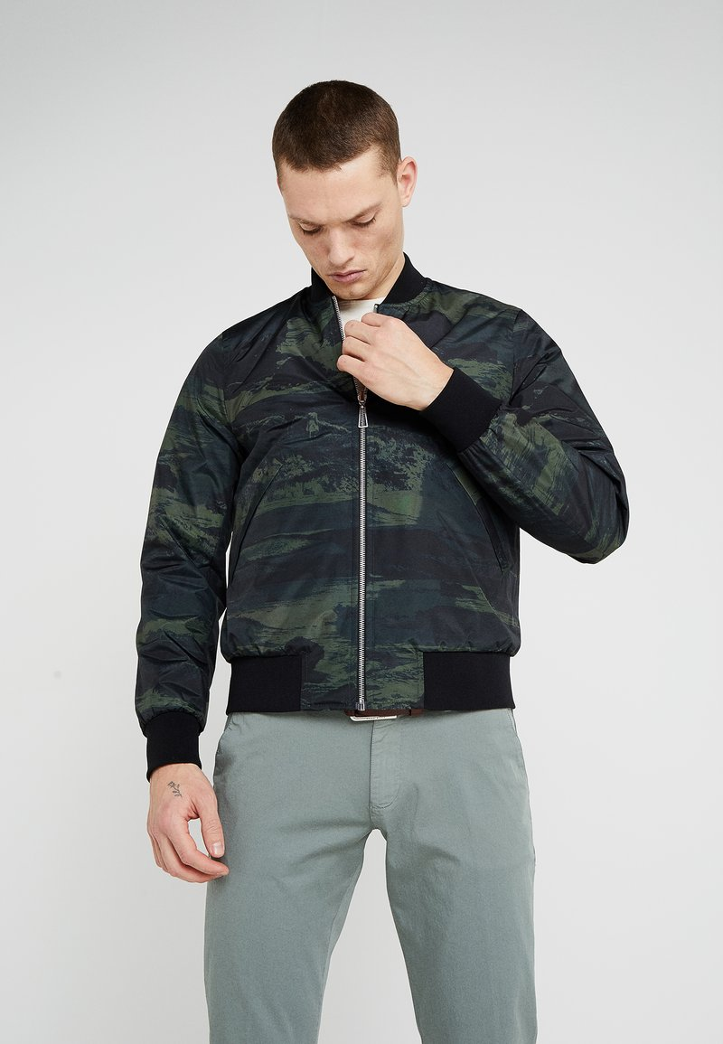 PS Paul Smith - REVERSIBLE BOMBER - Bomberjacke - light grey