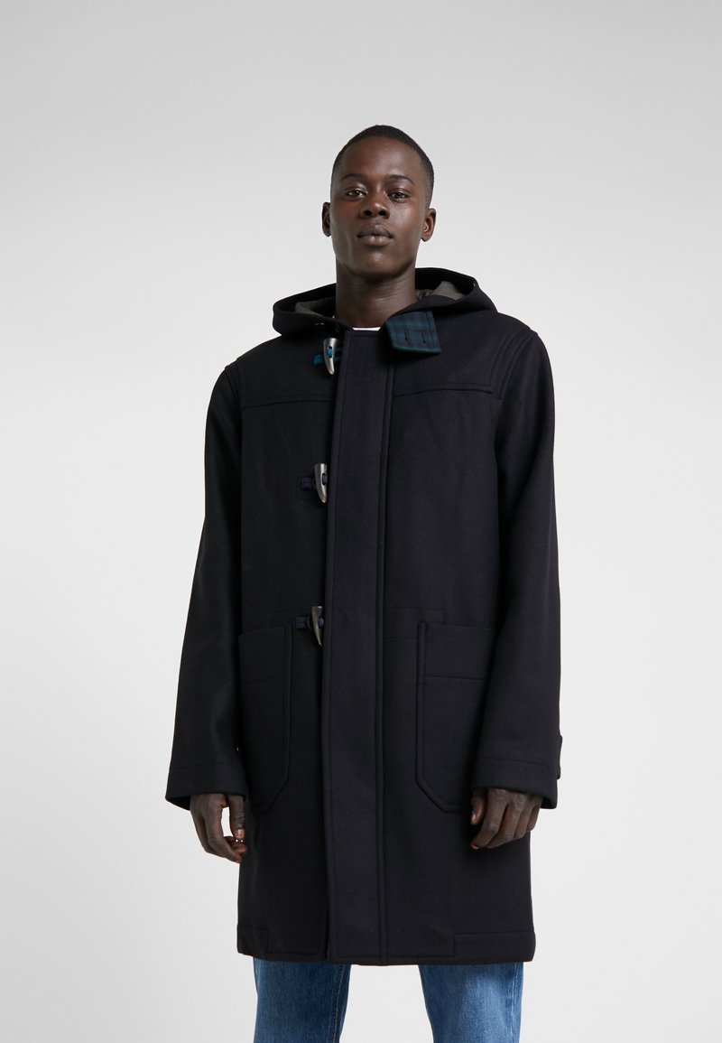 PS Paul Smith - DUFFLE COAT - Mantel - black