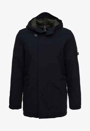MENS HOODED JACKET - Parka - navy