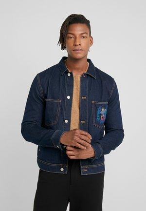 MENS RIDER JACKET - Denim jacket - dark denim