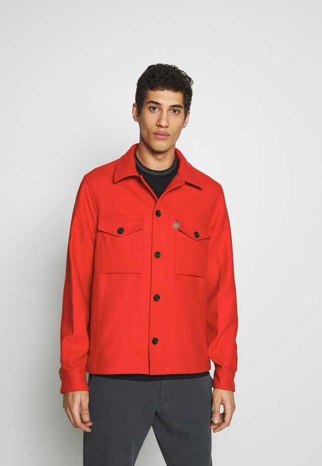 MENS MILITARY OVERSHIRT - Veste légère - orange