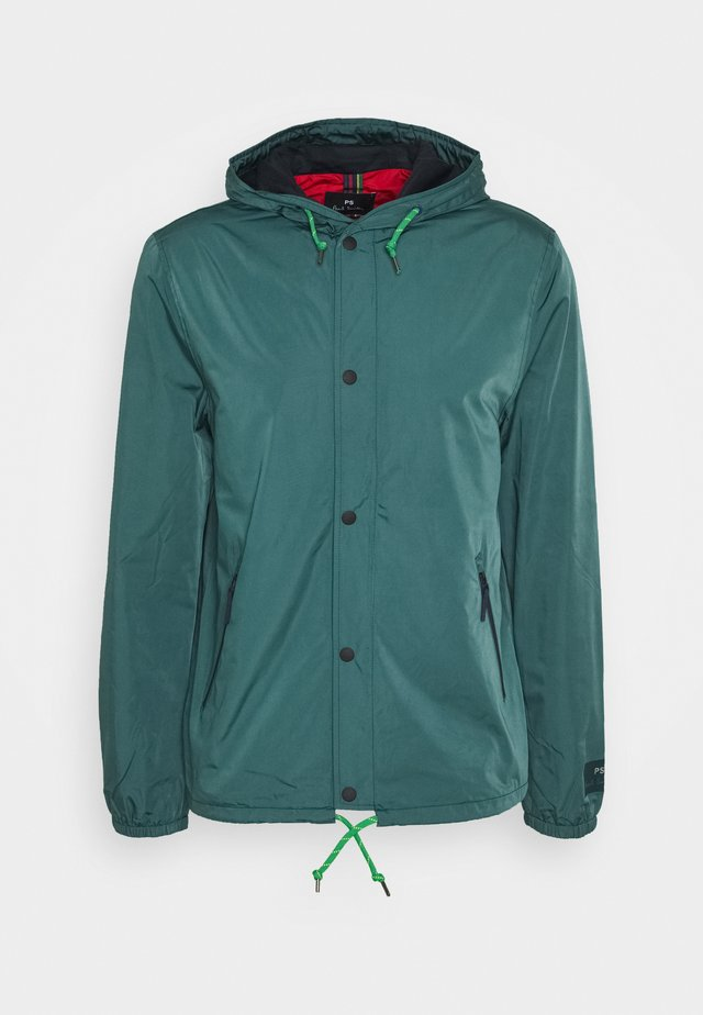 MENS HOODED JACKET - Summer jacket - petrol