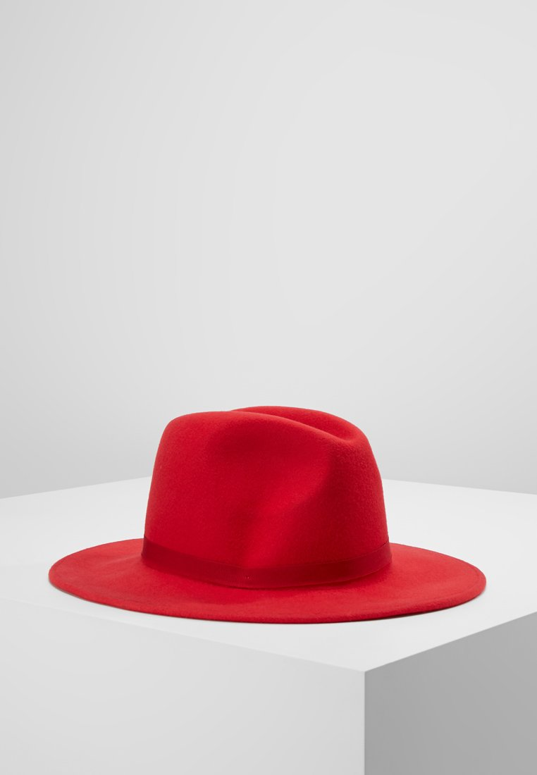 PS Paul Smith - WOMEN HAT LINED FEDORA - Hut - red