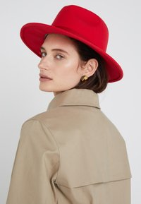 PS Paul Smith - WOMEN HAT LINED FEDORA - Hut - red - 1