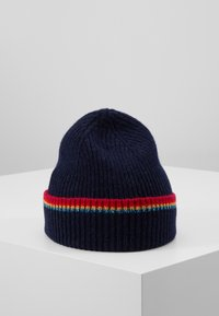 PS Paul Smith - WOMEN HAT SIGNATURE - Czapka - navy - 0