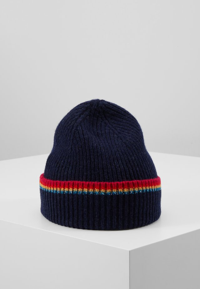 WOMEN HAT SIGNATURE - Beanie - navy
