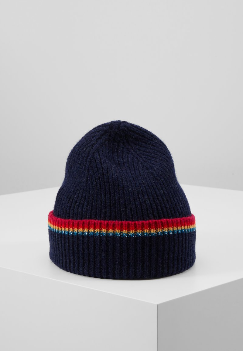 PS Paul Smith - WOMEN HAT SIGNATURE - Czapka - navy
