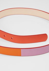 PS Paul Smith - WOMEN BELT BLOCK - Vyö - pink/orange - 4