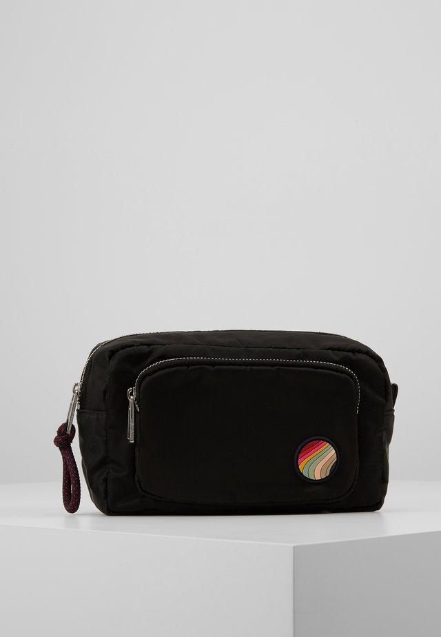 WOMEN BAG COSMETIC - Toiletti-/meikkilaukku - black