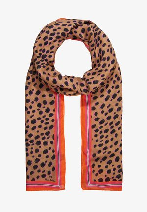 WOMEN SCARF CHEETAH SKIN - Huivi - tan